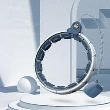 Olevo 10th intelligent comptage Sport cercle réglable maison Fitness Musculation anneau exercice de Musculation taille mince minceur cerceau