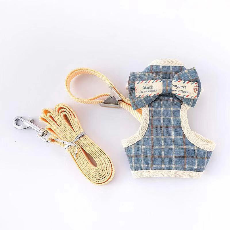Small Milk Dog Hand Holding Rope Vest Style Teacup Dog Chihuahua Puppy Small Dogs Dog Walk A Cat 1-4 Jin Anti-Escape