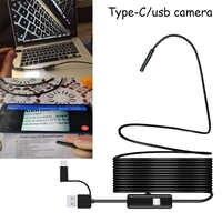 1080P Endoscope 8mm Lens USB/Type-C PC Android Endoscope Camera Borescope Waterproof Take Photos Inspection Endoscope Camera