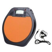 Высокое качество цифровой электрический электронный барабанный Коврик для тренировок Практика Метроном с розничной посылка I17 цена