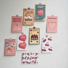 Поздравительная открытка с надписью «love торт» в Корейском