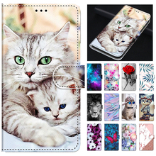 Huawei Honor 7C AUM L41 Leather Case For Huawei Honor7C 7 C Russian Version Case 5.7 inch Flip Wallet Card Slots Phone Cover Bag