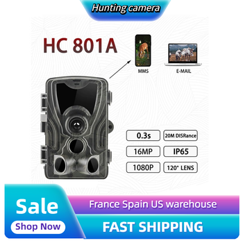 HC801A Hunting Trail Camera Wildlife Camera With Night Vision Motion Activated Outdoor Trail Camera Trigger Wildlife Scouting tactical hunting trail camera for outdoor sport os37 0034