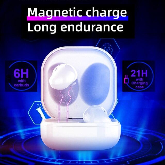 Wireless Headphones Bluetooth 5.1 TWS Headphones with Microphone Bluetooth Earphone Stereo Headset for IOS Samsung Buds Live 5