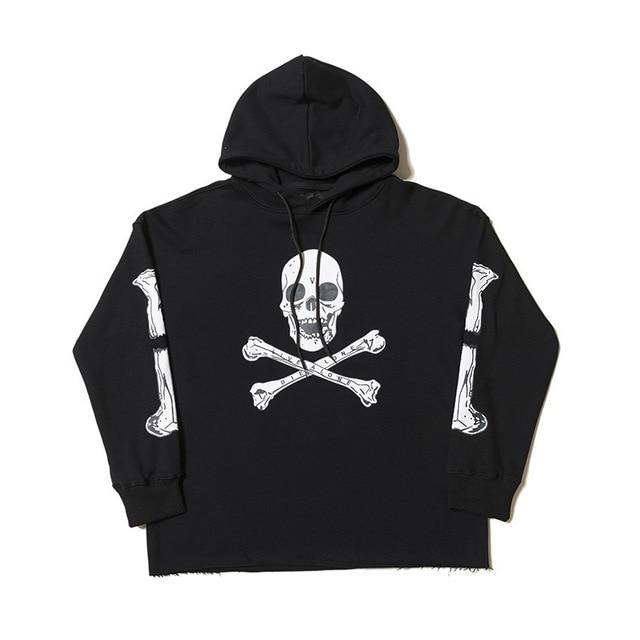 VLONE Skull Man Hoodies 1