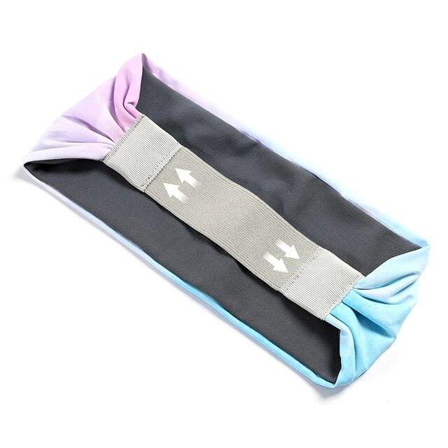 Women\'s Gym Fitness Skid Wide Sports Yoga Headband Sweat Belt Hair Band Stretch Headscarf Hot 4