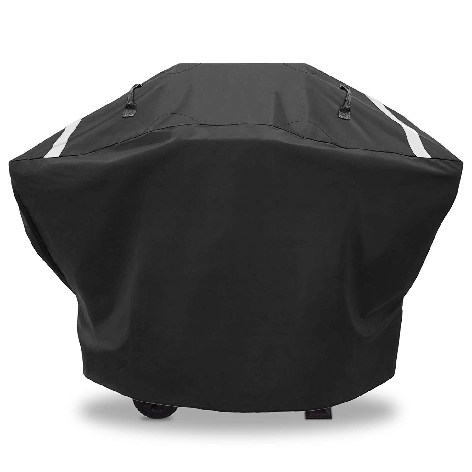 Hisencn Heavy Duty Waterproof 2-3 Burners Gas Grill Cover for Char-Broil Rip-Stop Grill Cover, up to 52 Inches Wide,UV Resistant