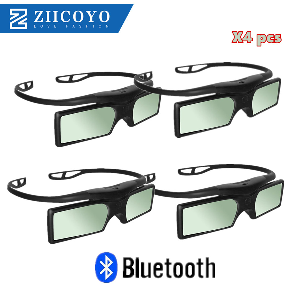4x lot G15-BT replace 3D GLASSES SSG-5100GB 3D Active Bluetooth Glasses For All Samsung 2015- 2011 D, E, ES and F H Series 3D TV image