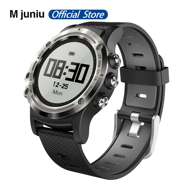 P1 מיני GPS Smartwatch IP68 עמיד למים שעונים ספורט Tracker צג כושר ספורט הודעה תזכורת ארוך המתנה