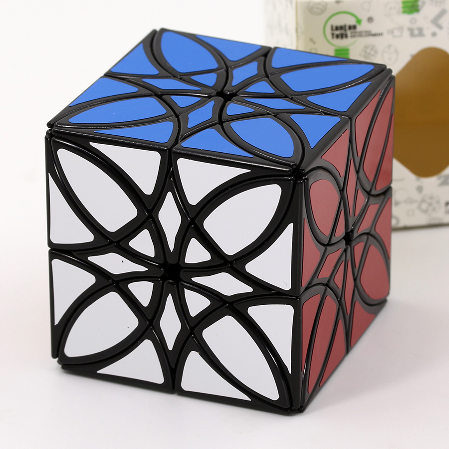 Magic Cube Puzzle LanLan Special Strage Shape Cube Love Of Butterfly Love Flowers Professional Educational Toys Romantic Gift