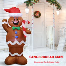 Garden-Toys Inflatable-Doll Christmas-Decorations Led-Night-Light Yard Party Home Figure