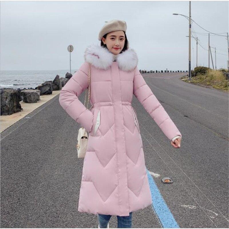 Большая Меховая зимняя парка, хлопковая куртка 2019, зимняя куртка для женщин, толстая зимняя одежда, зимнее пальто, женская одежда, Женская ку...