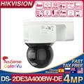 Hikvision DS-2DE3A400BW-DE(F1)(S5) 4MP IP Camera POE Network IPC Acusense ColorVu Pan Tilt H.265+ IP66 2-Way Audio Speed Dome