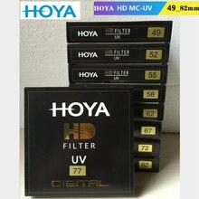 HOYA مرشح ألترا رقمي مقوى للأشعة فوق البنفسجية عالي الدقة ، طلاء متعدد ، لعدسة كاميرا نيكون كانون سوني
