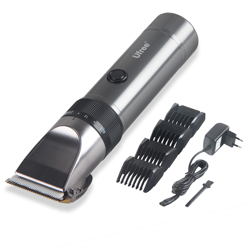 Professional Waterproof Hair Trimmer Display Men's Hair Clipper Grooming Low Noise Clipper Titanium Ceramic Blade Free Shipping