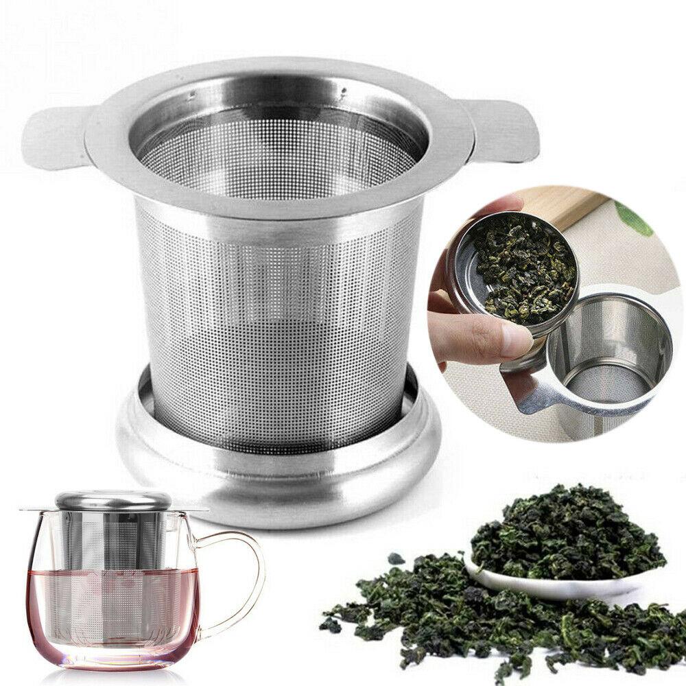 Reusable Stainless Steel Mesh Tea Infuser Tea Strainer Teapot Tea Leaf Spice Filter Drinkware Kitchen Accessories