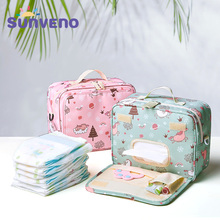 SUNVENO Fashion Wet Bag Waterproof Diaper Bag Washable Cloth Diaper Baby Bag Reusable Wet Bags 23x18cm Organizer For Mom [mumsbest] new large wet bag for baby cloth nappies bag pail liner for cloth dirty diapers waterproof pul reusable mummy bags