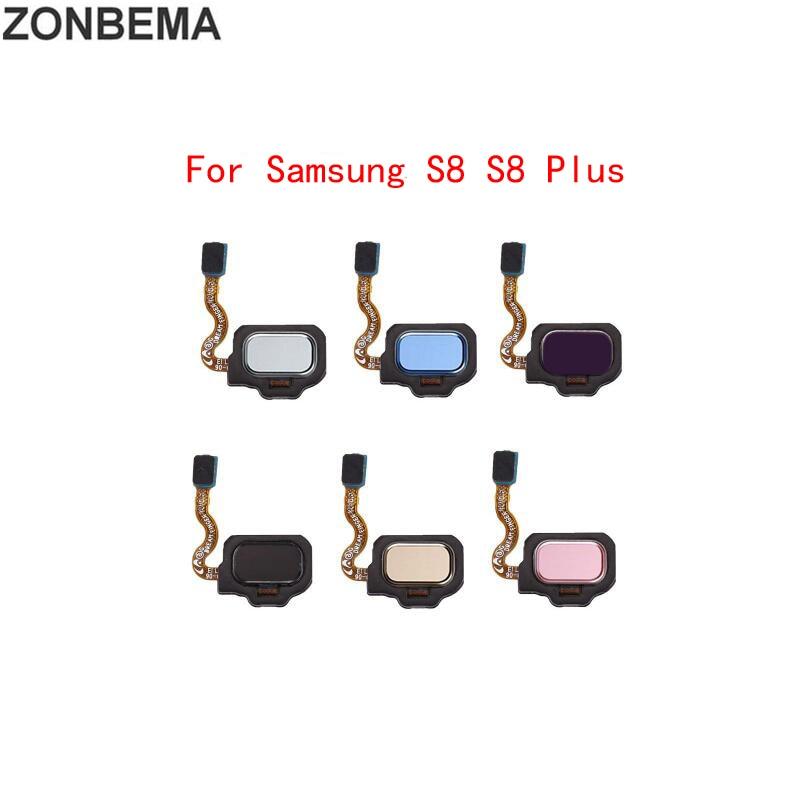 For Samsung Galaxy S8 + S9 Plus G950 G955 G960 G965 Touch ID Fingerprint Sensor Home Return Key Button Flex