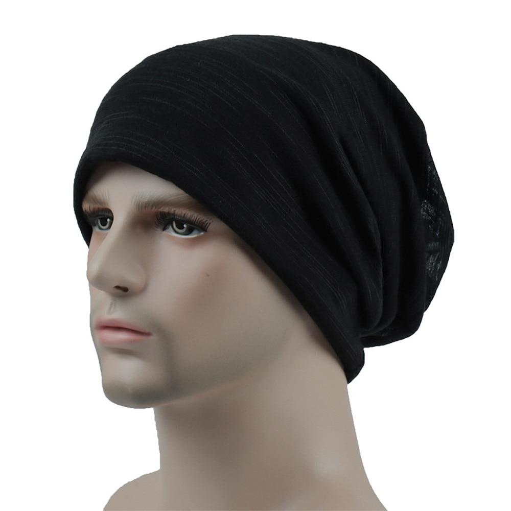Unisex Winter Beanie Men Women Head Cap Outdoor Fashion Summer Hip-hop Casual Scarf Hat Bonnet Czapka Zimowa Muts Шапка Женская