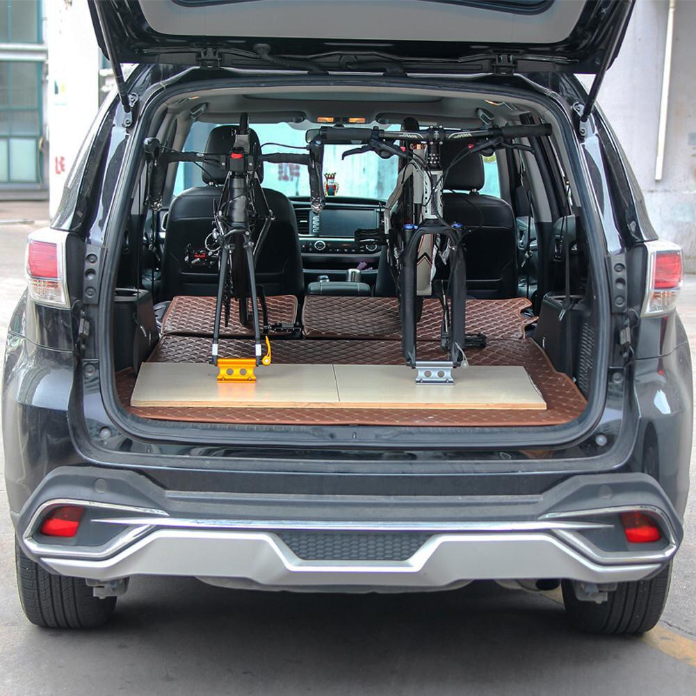 4 PCS Universal Bike Block QR Alloy Fork Mount Holder For Pickup Truck Bed Rack