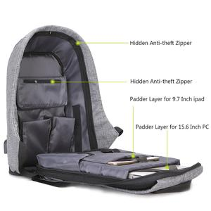 Image 3 - 15.6 Inch Laptop Backpack For MacBook Pro 15 Anti Theft 17.3 inch Laptop Bag Backpack Men/Women Oxford Waterproof Notebook Bag