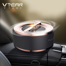 Vtear Car air freshener Automobiles perfume Solar Energy Auto Air Outlet Perfume Diffuser Solid Interior products accessories