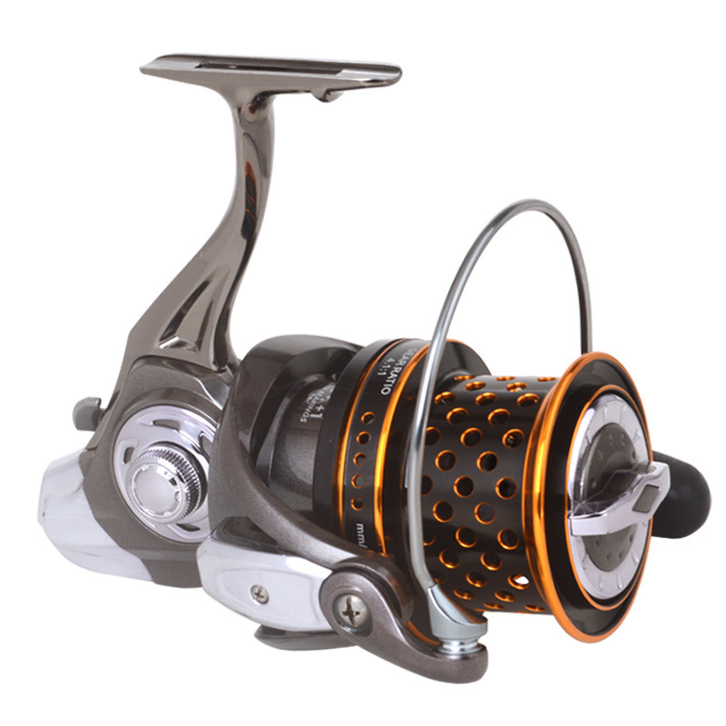 linha de pesca roda fiacao todo o metal roda de pesca especial mar lontra jogando roda