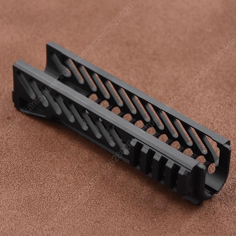 Тактический AK 47 103 104 105 74 м Пикатинни Вивер рельс теплоотвод Handguard Cnc алюминиевый режущий B-10 B10 B 10 M6761