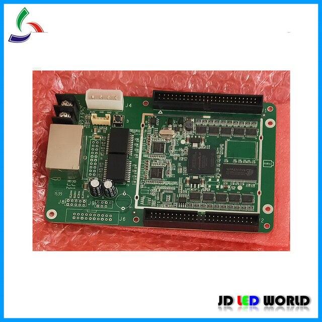 Colorlight T9 synchroniczny kolorowy wyświetlacz ledowy kontroler c i karta odbiorcza światła T9