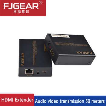 HDMI signal bis zu 50 mt über katze 5e oder cata 6 kabel, unterstützung hdmi 1,3, 1.4b, unterstützung 1080 p