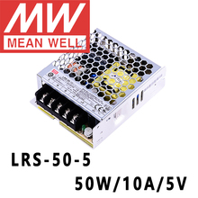 Mean Well LRS 50 5 meanwell 5VDC/10A/50W Single Output Switching Power Supply online store
