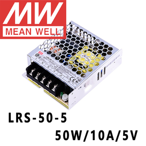 Image 1 - Mean Well LRS 50 5 meanwell 5VDC/10A/50W Single Output Switching Power Supply online store