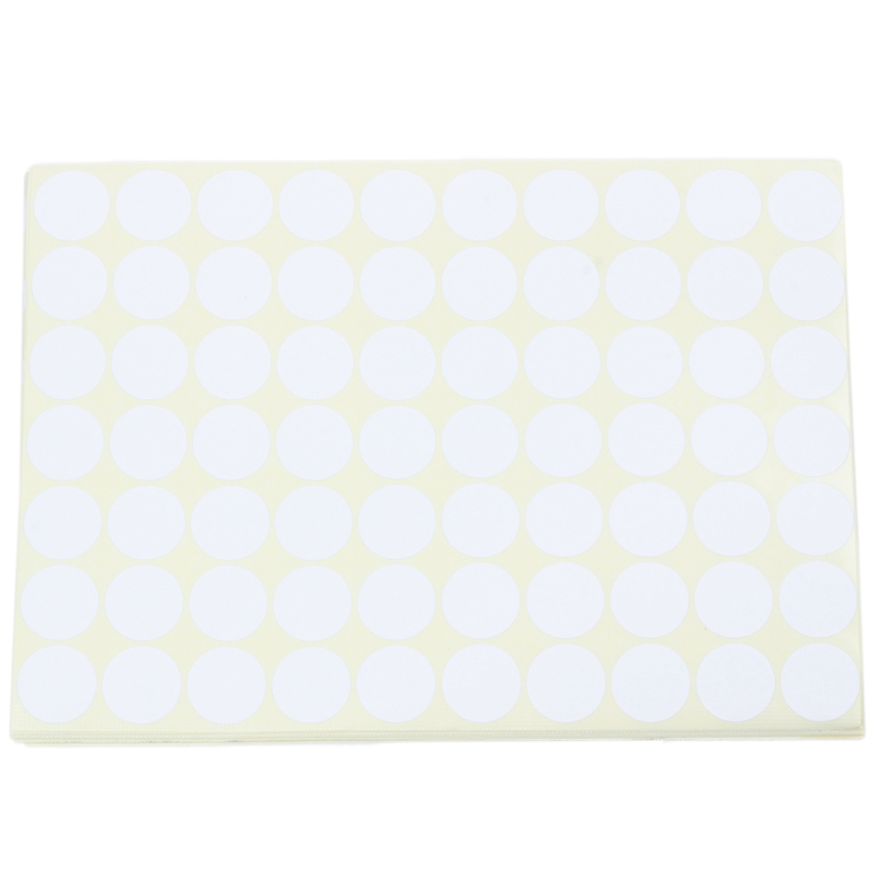 19mm Circles Round Code Stickers Self Adhesive Sticky Labels