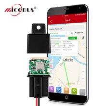 GPS Tracker Auto GPS Relais Micodus MV740 MV720 Auto Alarm GPS Locator 9-90V Schock Alarm Cut Off kraftstoff ACC Detec Freies APP PK CJ720