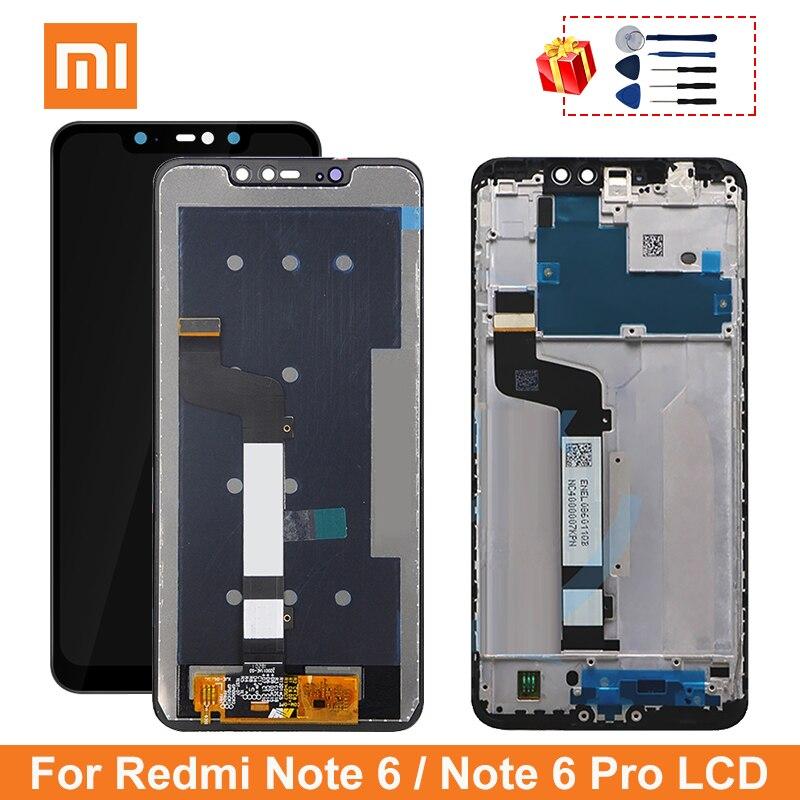 ЖК-дисплей 6,26 дюйма для Xiaomi Redmi Note 6 Pro, сменный экран для Redmi Note 6 Pro, дисплей 10 касаний, качество AAA