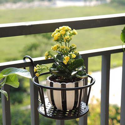 Rack Flower-Stand Plant-Shelf Hanging-Orchid Metal-Plants-Stand Balcony Indoor for Green