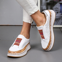 2019 Summer/Autumn Casual Shoes For Female and Male Mixed Color Elastic Suede  White/Red/Blue/Green Loafers