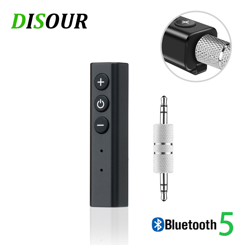 5.0 APTX <font><b>Bluetooth</b></font> <font><b>Receiver</b></font> Audio AUX 3.5mm Jack Stereo HandsFree Car Kit Transmitter Music Wireless Adapter A2DP For Headphones image