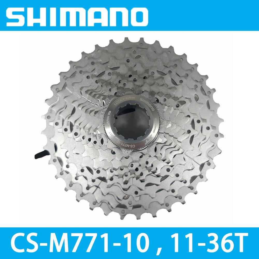 New In Box Shimano Deore XT CS-M771-10 11-34T 10 speed Cassette