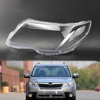 for subaru forester 2009-2012 cover lens Car headlight accessories Headlight lampshade Transparent headlight housing Lens case