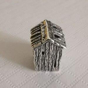 Image 4 - דבקון 925 סטרלינג כסף את משרד קסם חרוז אירופאי תכשיטים