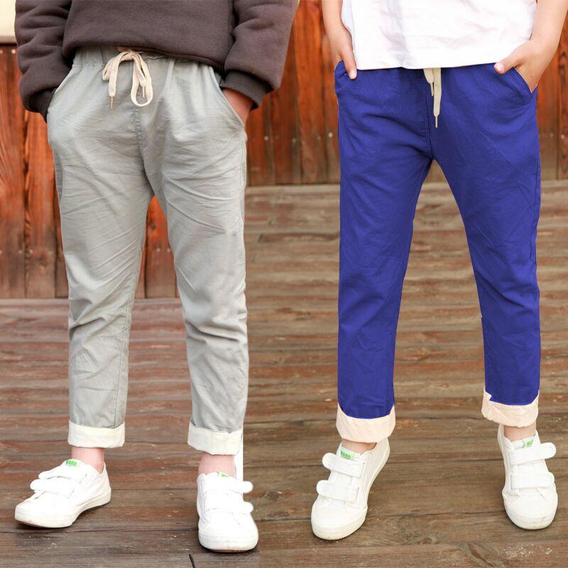 IENENS Summer Kids Boys Girls Jeans Cotton Clothing Pants Children Short Bottoms Baby Boy Casual Clothes Trousers Cowboy Pants