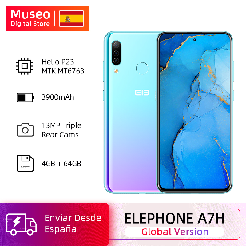Global Version ELEPHONE A7H Helio P23 4GB 64GB Smartphone 6.4