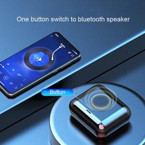Image 2 - New True Wireless Bluetooth Earphone & Speaker 2 in 1 HD Stereo Wireless Headphones Mini Earbuds Bass Headset with 2000mAh Bin