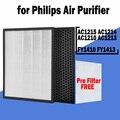 Сменный Hepa-фильтр для очистителя воздуха Philips серии AC1215, AC1212, AC1213, AC1216, 1000, 1000i, FY1410, FY1413