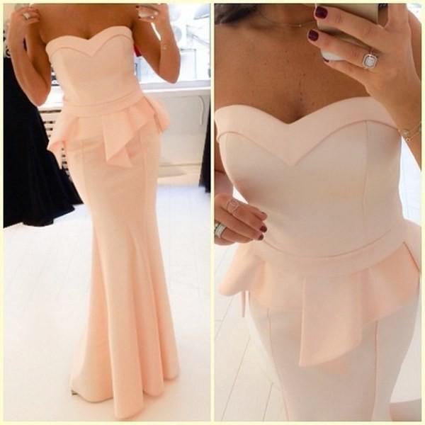 Vestido De Festa 2018 Newest Sweetheart robe de soiree Long Prom Mermaid Formal Floor Length Party gown bridesmaid dresses