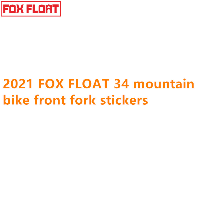 FOX Float DPS 2021 Rear Shock Suspension Factory Sticker Decal White Camo