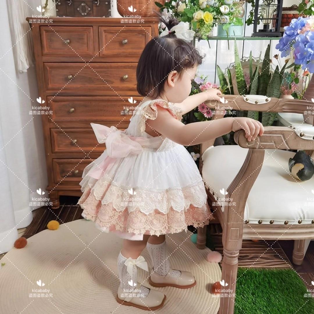 mangas princesa vestido crianças festa aniversário páscoa