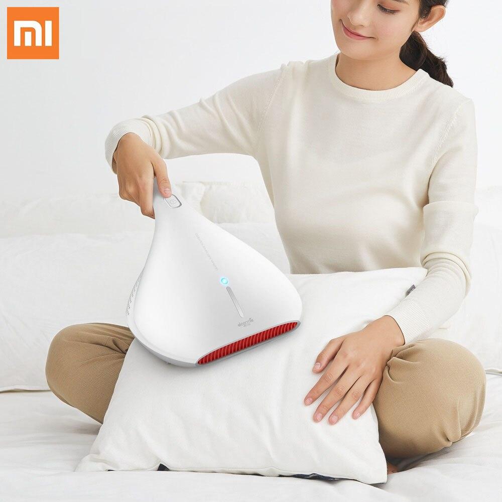 Xiaomi Mijia Deerma acariens aspirateur à main lumière et choc thermique lampe UV enlever les acariens forte aspiration nettoyeur