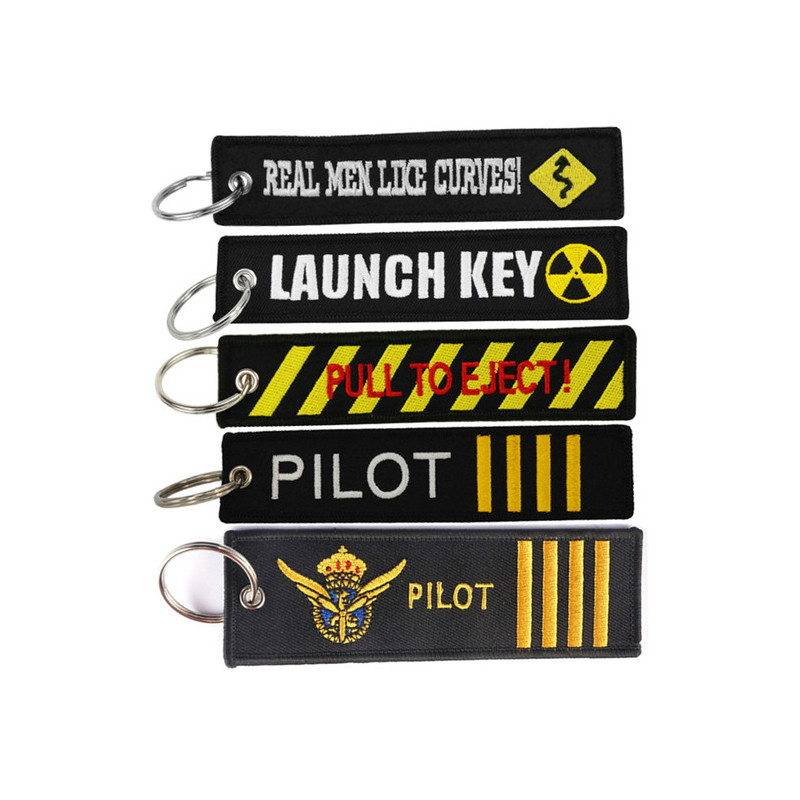 Travel Accessories Luggage Tag With OEM Key Ring Chain Embroidery  Baggage Lables Travel Bag Tag For Aviation